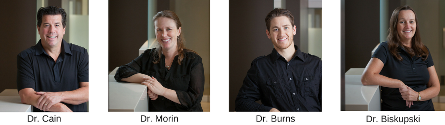 Fredericton Dentists Dr Cain, Dr Morin, Dr Burns and Dr Biskupski