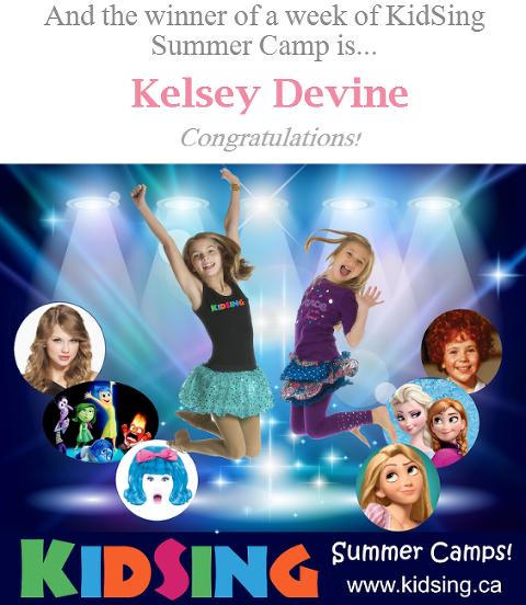 26c40beb And the winner of a week of KidSing Summer Camp is... - Mom Talk